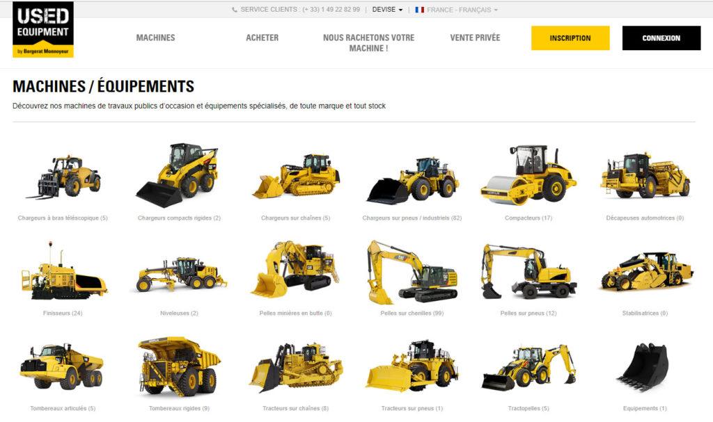 Marketplace UsedEquipment