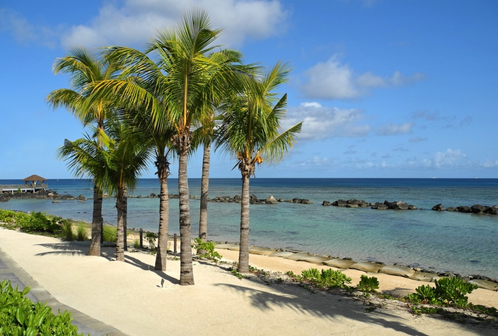 Vacance et plage à l'ile Maurice