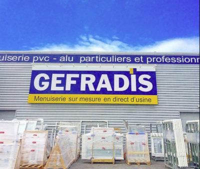 Vente en ligne Gefradis