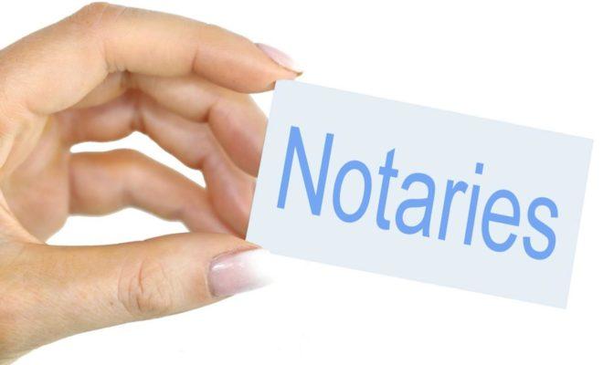 actes notariés