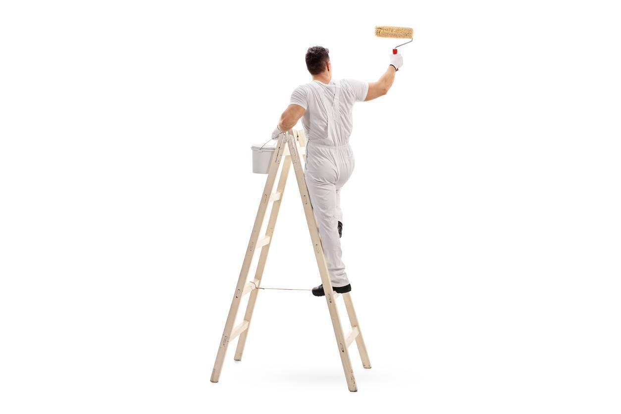outils de peinture peintre en bâtiment