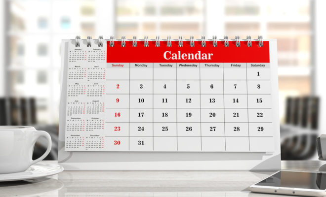calendrier entreprise
