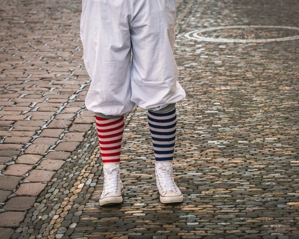 chaussettes fantaisistes