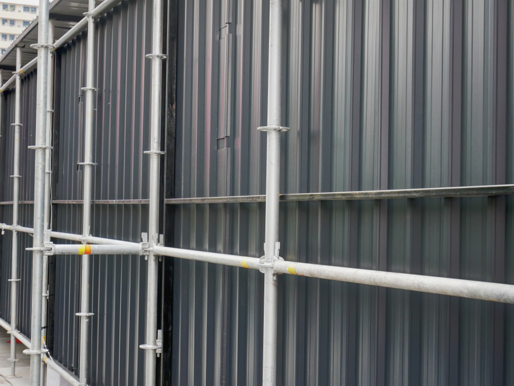 clôture chantier