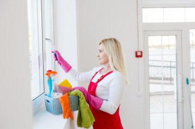 comment bien laver des vitres en entreprise