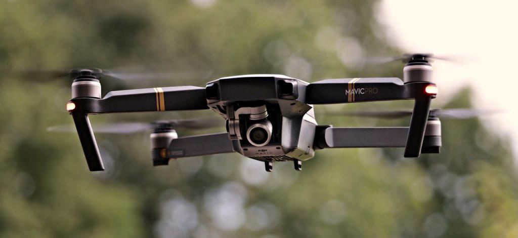 Drone pour un événement
