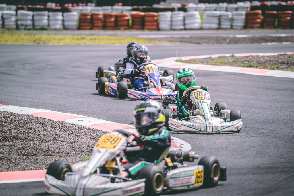 karting activité entre collèges