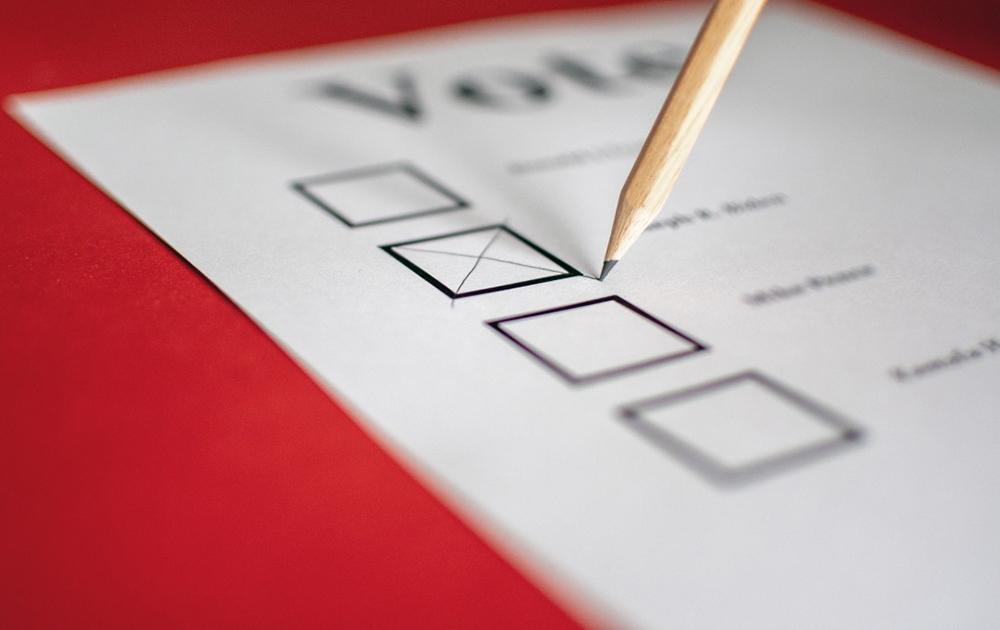 matériel vote