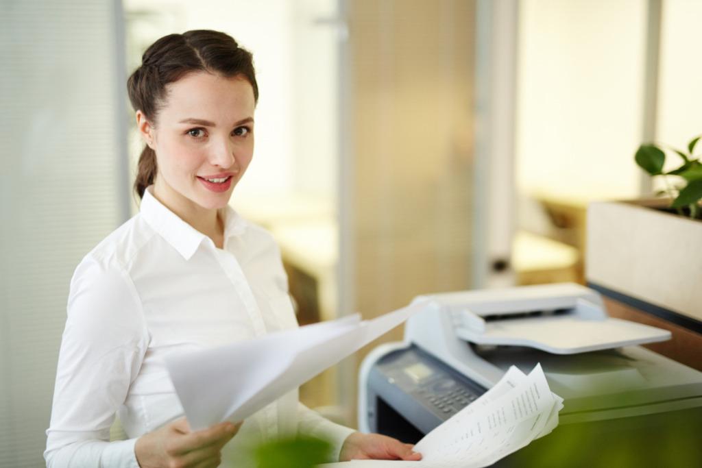 métier de secrétaire