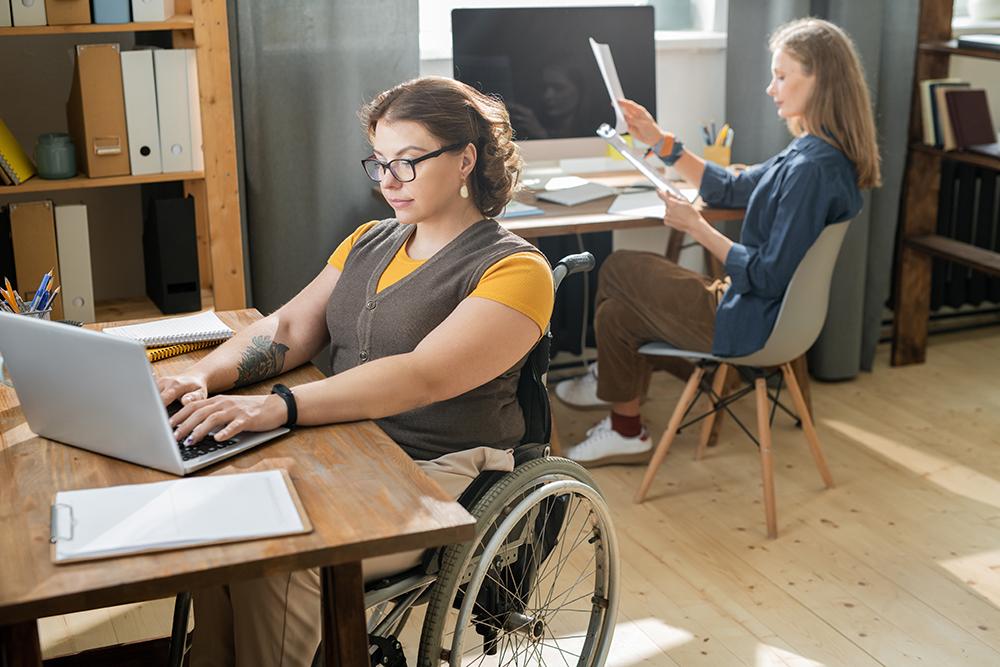 modèle fauteuil roulant