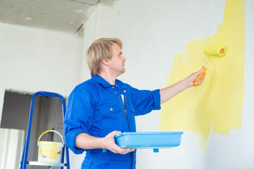 peinture pour la rénovation