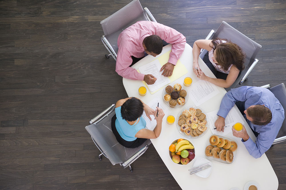 petit déjeuner collaborateur