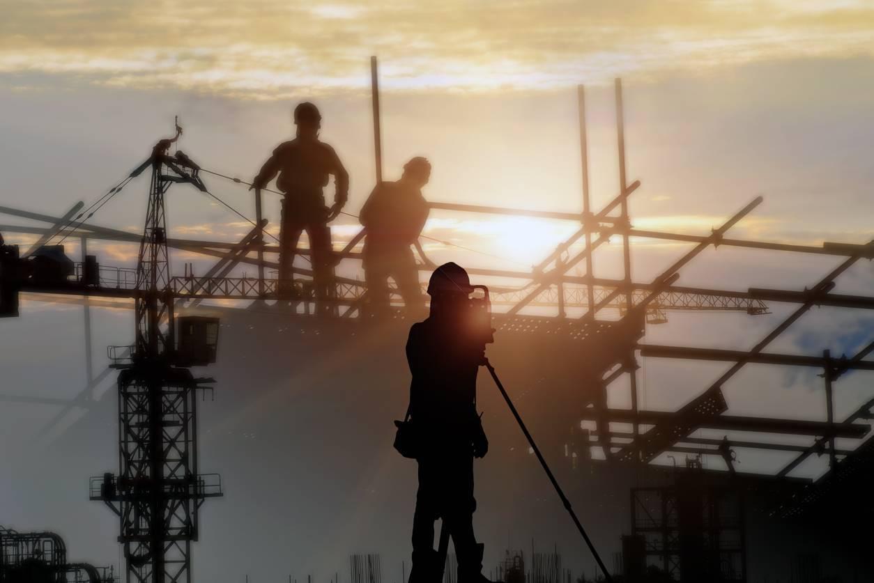 filet sécurité chantier ouvrier