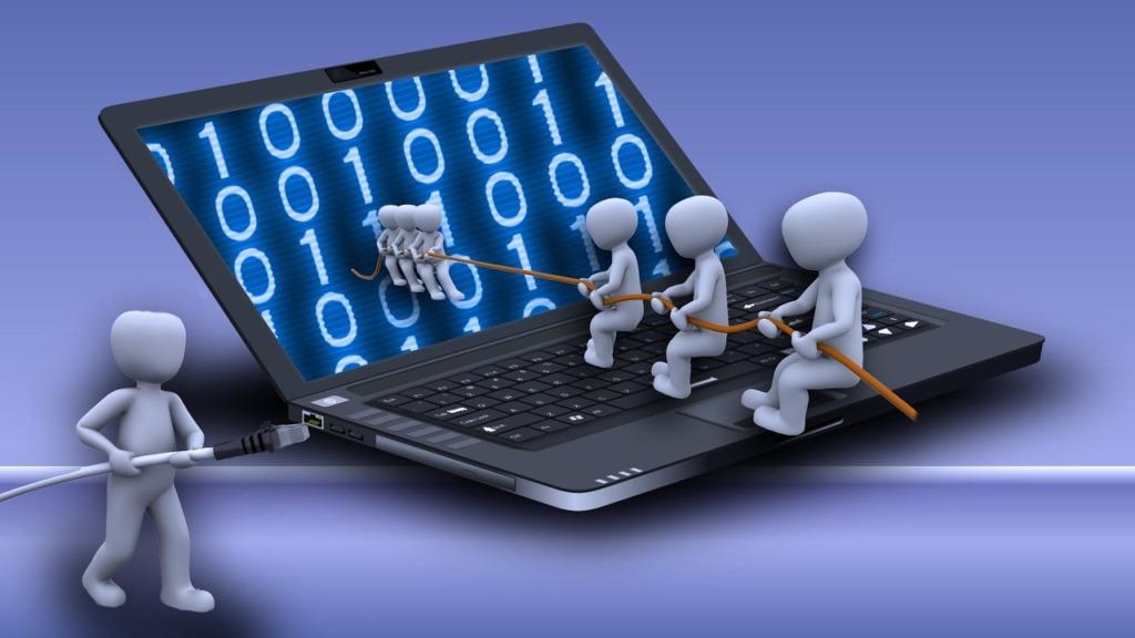 problème débit internet