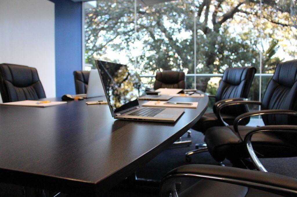 style de la salle de réunion