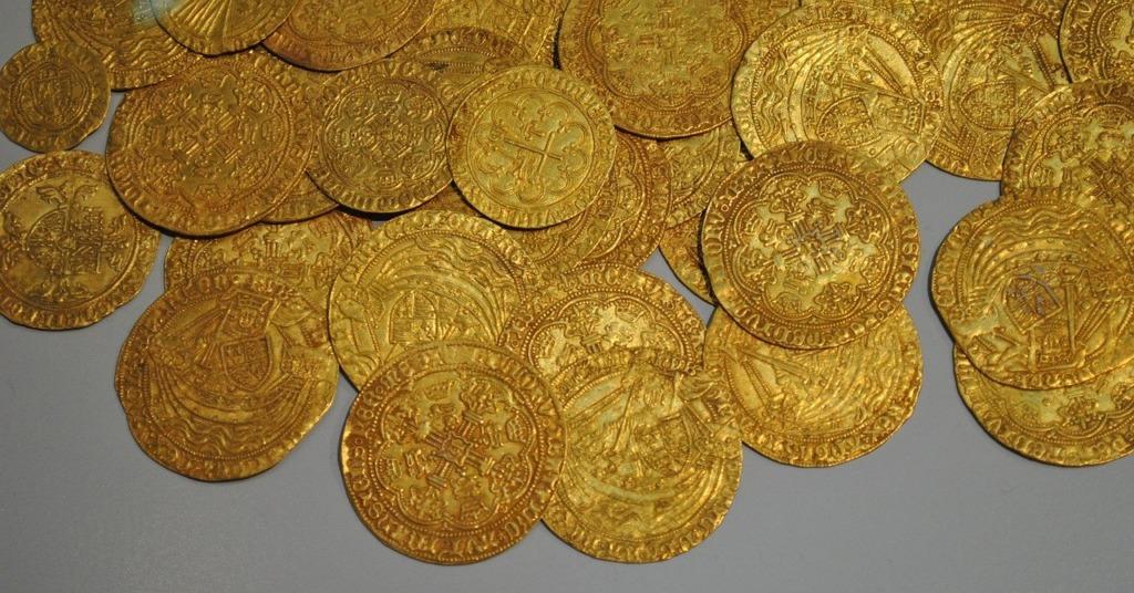 une pièce Louis d'or